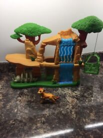 lion guards defend the pride lands playset including the kian figure