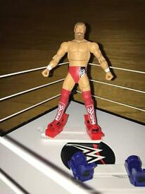 WWE Double Attack Total Control Takedown Playset and One Dual Force Figure