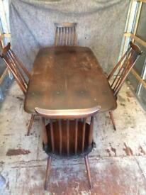 Ercol dining table. (Table only)