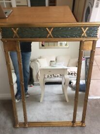 Large Living Room/Hall Mirror Ex Gillies Mint Condition 100cm x 75cm