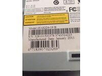 Genuine Liteon iHas 124B 124-B DVD Dual Layer Writer Xbox XGD3