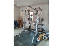 Bodymax CF380 Smith Machine With Weigth Plates and Accessories