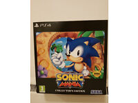 Sonic Mania Collectors Edition (PS4) - NEW & SEALED