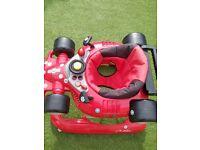Baby/kids/boys/girls red car walker!!!