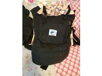 Ergo baby carrier and rucksack