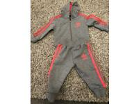 Adidas tracksuit 0-6 months