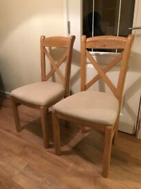 Willis and Gambier Dining chairs x4