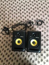 KRK Rokit RP5 G3 Pair Black | Active Studio Monitor Speakers (Pair)