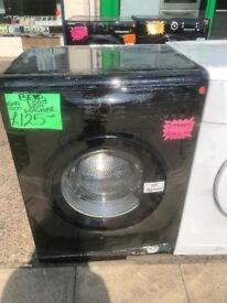 BEKO 6KG DIGITAL SCREEN WASHING MACHINE IN BLACK