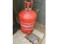 Calor gas bottle - 13 kg - almost full