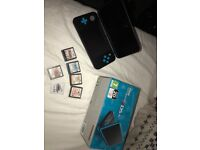 2DS XL with games