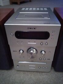 Sony Micro Hi-Fi with DAB, CD and RDS.