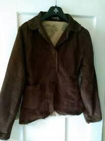 Namaste fairtrade corduroy jacket size 11