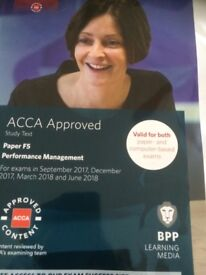 F5 ACCA performance management study text