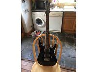 Ibanez RGA42 black electric guitar