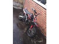 125cc / 140cc pit bike