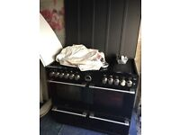 Stoves duel fuel gas and electric oven cooker