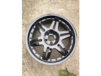 "20"" Brabus Alloy Wheels & Tyres 5x112 S E Class Vito VW"