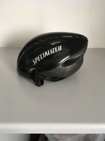 Specialised bike helmet - adult male. Black. Worn once. Size SM / MD