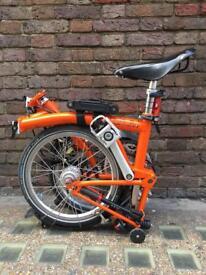 Orange Brompton M6L
