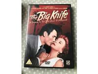 the big knife dvd classic film noir rare!