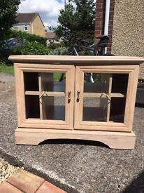 TV stand with free matching display cabinet