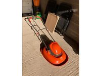SOLD. THANK YOU. Flymo - clean - lawnmower with cable