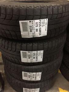 215/60/16 Michelin X-Ice Xi2 (Winter)
