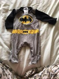 Newborn batman onesie