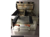Valentines commercial double fryer £200