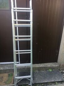 Step Ladder 18 ft exellent condition £80 ideal for painter n decorator pick up only
