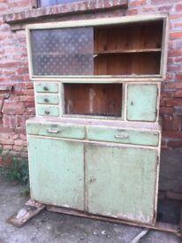 Kitchenette Farmhouse Rustic Farmhouse storage Cupboard