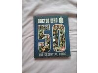 Selection of Doctor Who books and annuals
