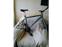 MOUNTAIN BIKE,GIANT ESCAPE, FRAME & FORKS SET,FULL DISC SPEC £35 ONO