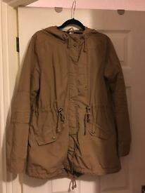H and M, light jacket size 16