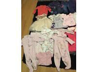 Baby girls clothes bundle 3-6 mths