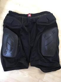 Quicksilver padded shorts for skate/snow boarding