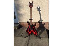 Bc rich KKW electric guitar metal