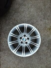 "BMW 5 series MV2, e60 ,e61 genuine 18"" x1"