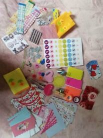 Scrapbooking, papercraft, cardmaking supplies