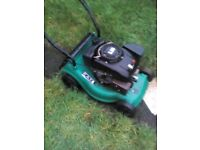 petrol mower and petrol strmmer both work fine