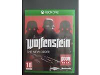 WOLFENSTEIN THE NEW ORDER XBOX ONE GAME