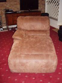 Recliner sofa left hand attachment