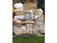 Job lot of building blocks/bricks