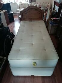 Single bed and matress
