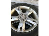 Seat alloy wheels