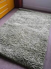 Lovely green rug