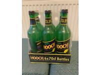 6 seal hooch bottles