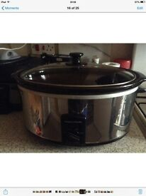 Morphy Richards 6.5 ltr slow cooker