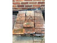 Reclaimed bricks for sale.